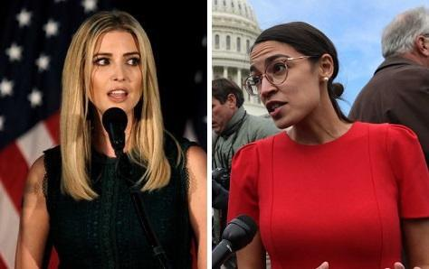 "Ivanka Starts Cat-Fight With AOC: ""People Want To Work For What They Get"""