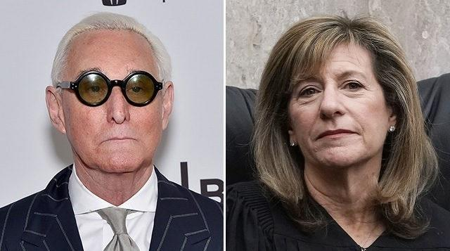 Stone Gagged Again As Judge Threatens Jail During 'Death Threat' Court Hearing
