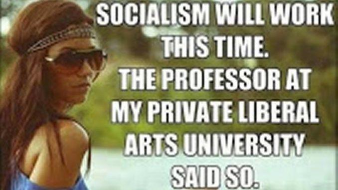 50 Actual College Courses That Prove That America's Universities Are Training Students To Become Socialists