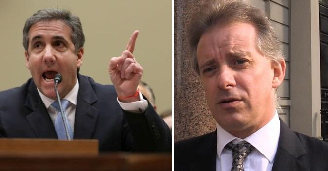 Spooked? Christopher Steele Cancels Appearance After Cohen Testimony Destroys Dossier Allegation