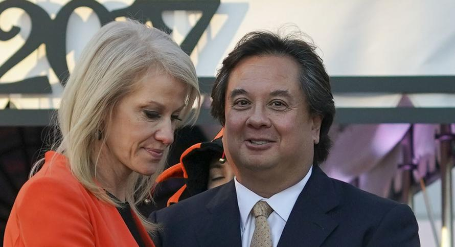 """Grounds For Impeachment"" If Trump Tried To Block AT&T-Time Warner Deal: Kellyanne Conway's Husband"