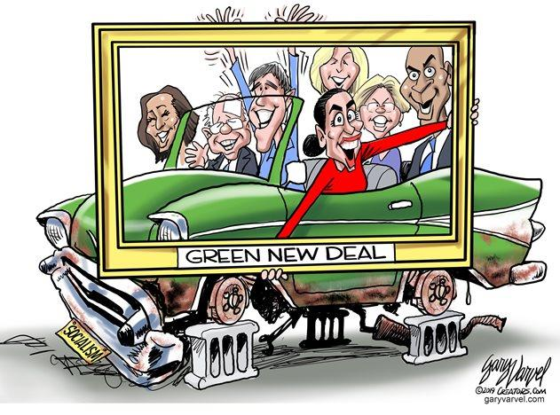 The New Green Deal Is Not New. Not Green. Not A Deal.
