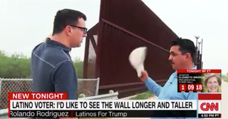 Shock: CNN Interviews Pro-Trump Latinos Who Want 'Longer, Taller' Wall