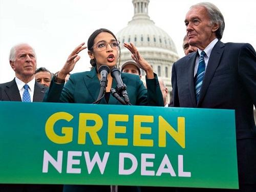 "Civil War Would Erupt If ""Green New Deal"" Socialists Actually Get What They Want"
