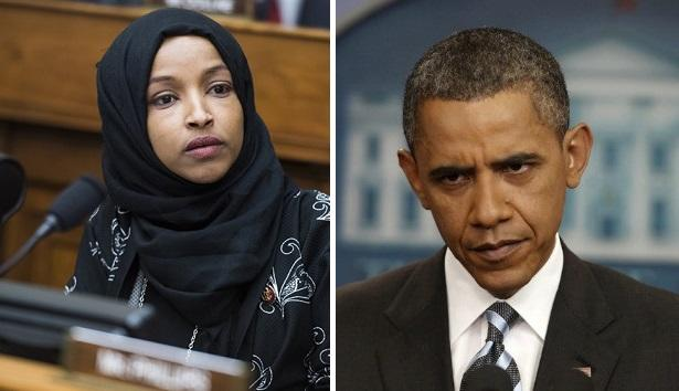 "Ilhan Omar Blasts Obama For ""Caging Of Kids"" Along Border, 'Getting Away With Murder' Overseas"