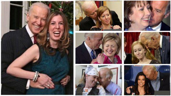 10 Videos Showing Joe Biden Touching Women Inappropriately
