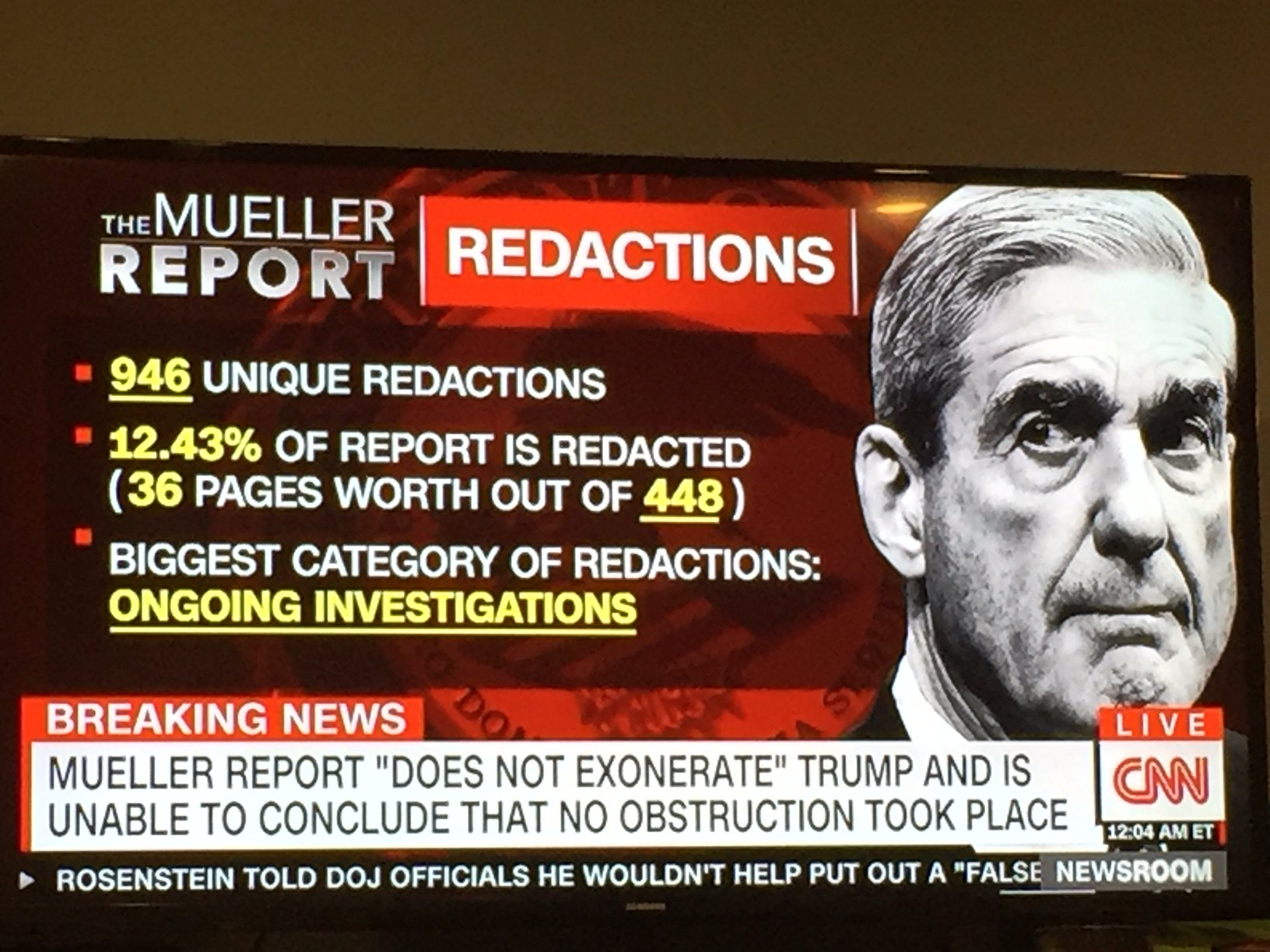 CNN Can't Do The Mueller Report Math