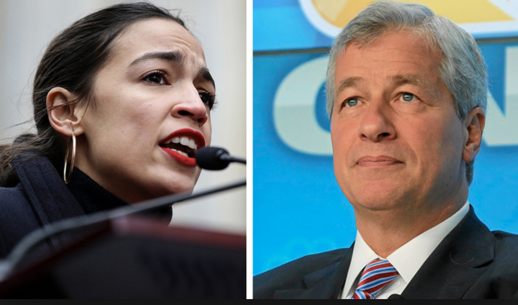 "Will Dimon Triumph Over AOC, ""Kerosene Maxine"" During Wednesday's Washington 'Circus'?"