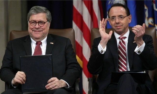Barr, Rosenstein To Hold 9:30AM Press Conference As DOJ Releases Mueller Report