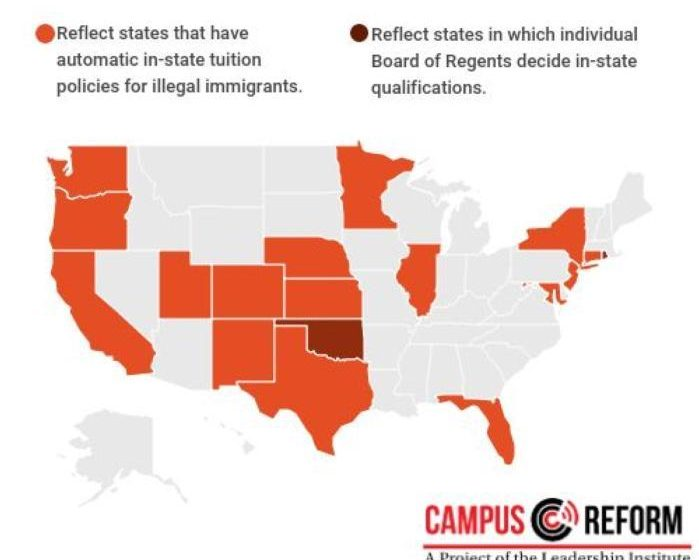 18 States Offer In-State Tuition For Illegals… And Legal Residents Are Not Happy About That