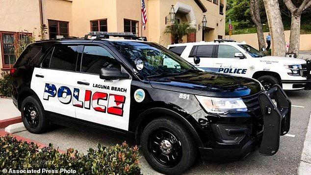 Laguna Beach Liberals Triggered By American Flag On Police Cars
