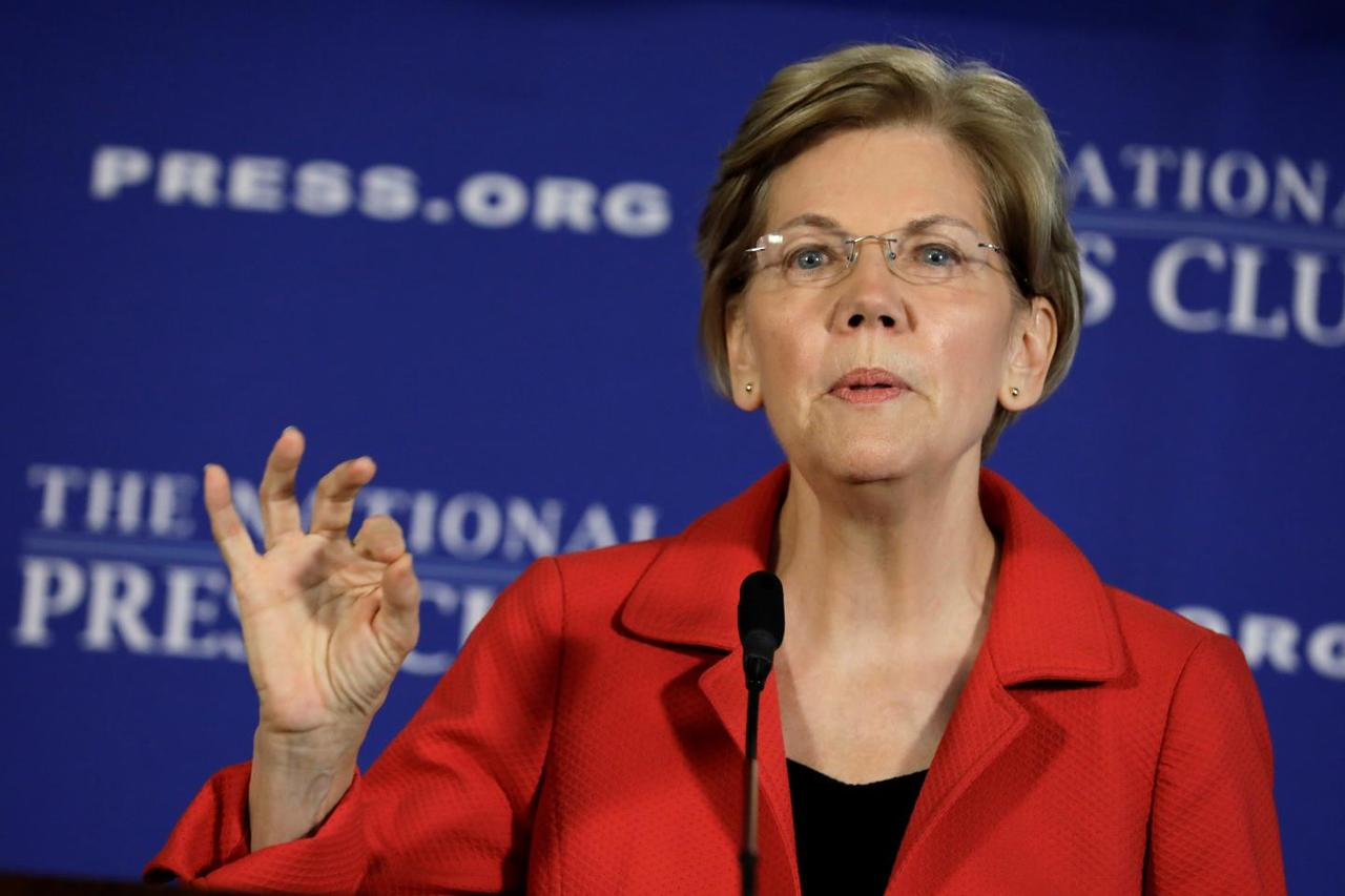 Warren Proposes $640 Billion Student Debt Forgiveness, Free College