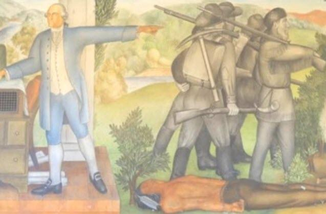 "California High School To Erase George Washington Mural: ""Traumatizes Students"""