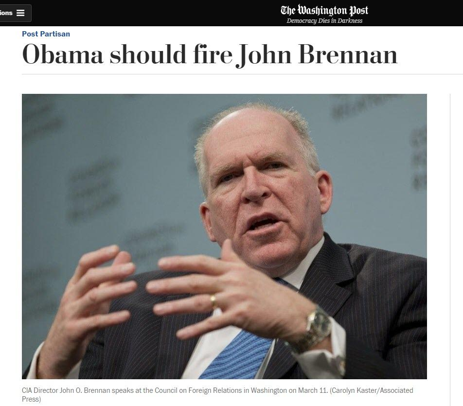 How Times Change: 2014 Mainstream Media Demands Obama Fire Brennan, Fix Intel Agencies