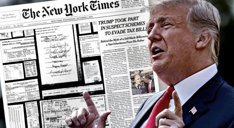 """WRONG!"" – Trump Slams NYT Over Latest Deutsche Bank Story"