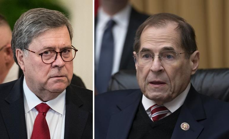 House Judiciary Committee Votes To Hold Barr In Contempt Over Unredacted Mueller Report