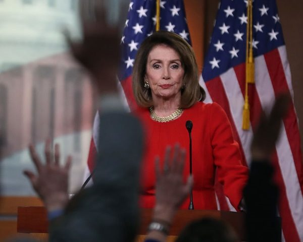 Pelosi Fears Trump Won't Leave WH Short of 'Big' Dem Victory