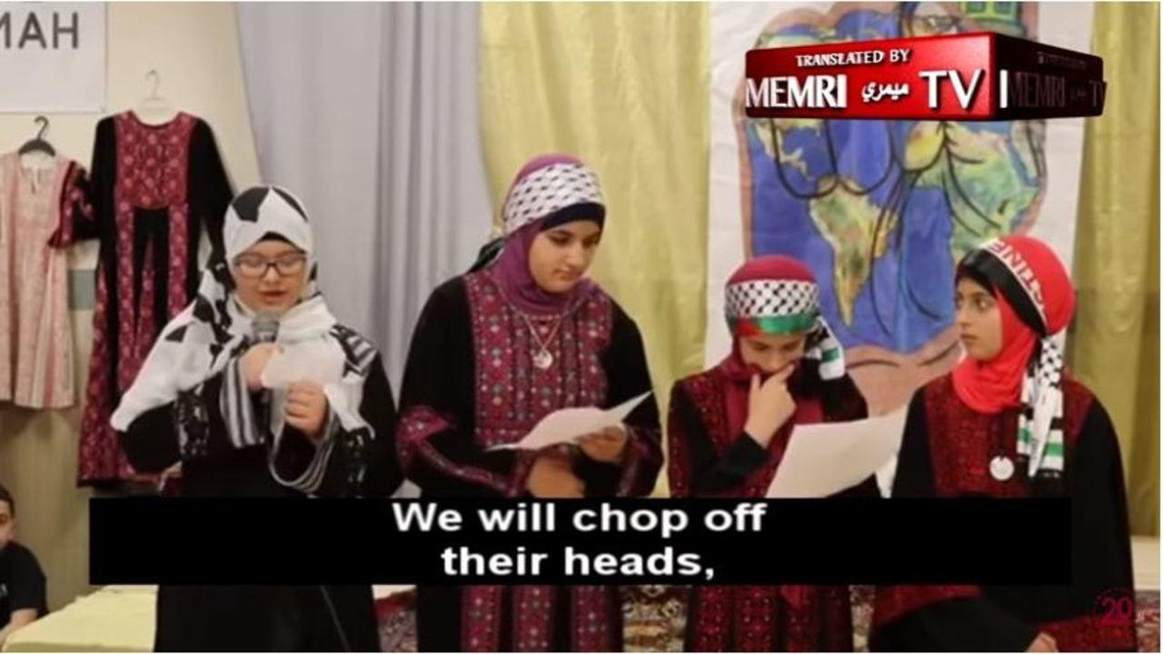 "Children At Philadelphia Muslim Society Say They Will ""Chop Off Heads"" For Allah"