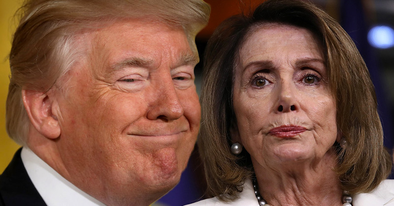 Trump: Pelosi Is 'Disintegrating Before Our Eyes'