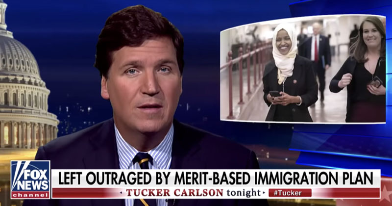 Tucker Carlson: Ilhan Omar Embodies Our 'Failed Immigration System'