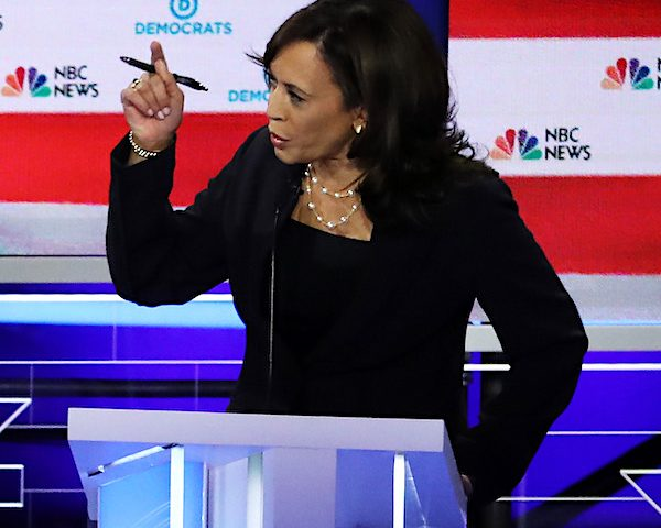 Kamala Harris Accuses Biden of Cozying to Racists