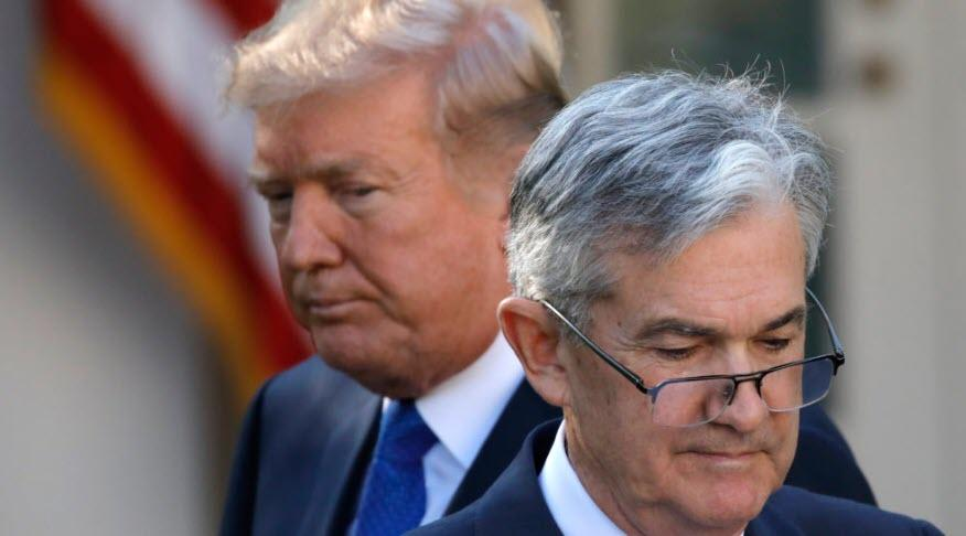 "Trump Slams ""Stubborn Child"" Powell: Market Would Be ""Thousands Of Points Higher"" But Fed ""Blew It"""