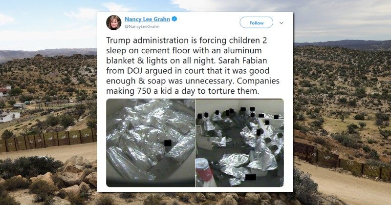 Tweet Claiming Trump 'Torture' of Kids in Border Camps Shows Photo Actually From Obama Era