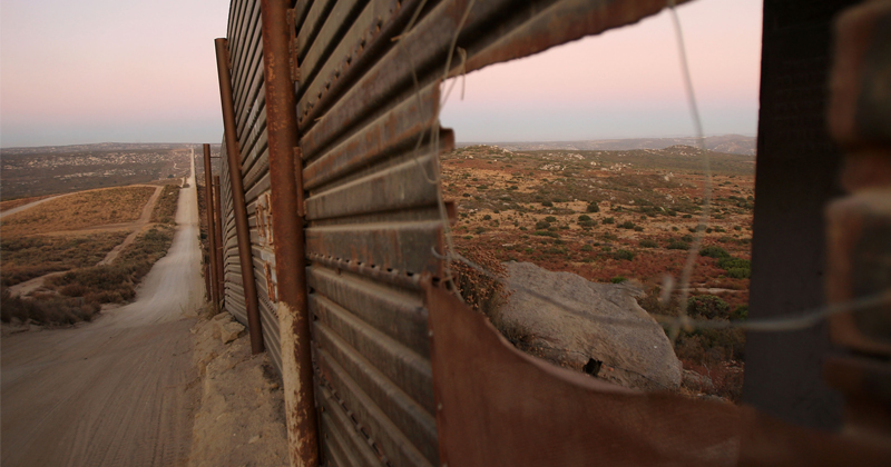 WILD WEST: Illegals cross into US — then OPEN FIRE on border wall!