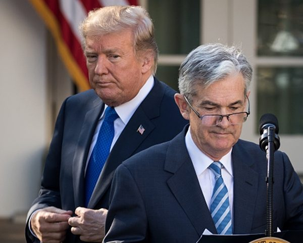 Trump Spoke With Powell Same Evening Fed Chief Met Democrats