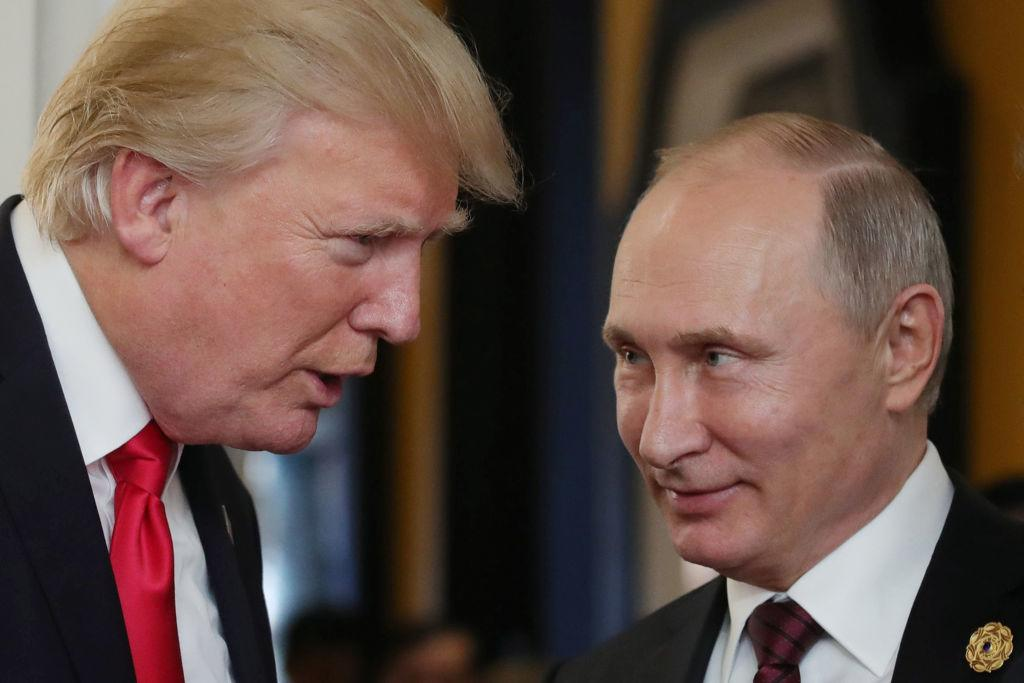 Trump And Putin To Meet On Friday