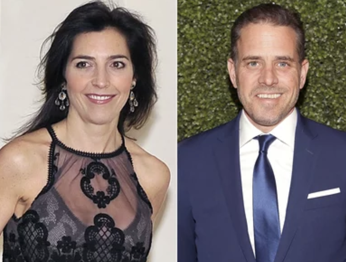 Hunter Biden Started Dating Dead Brother's Widow After Harrowing Crack Binge