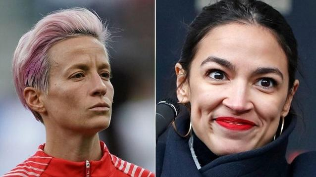 Megan Rapinoe Accepts AOC Invite To Capitol Following White House Snub