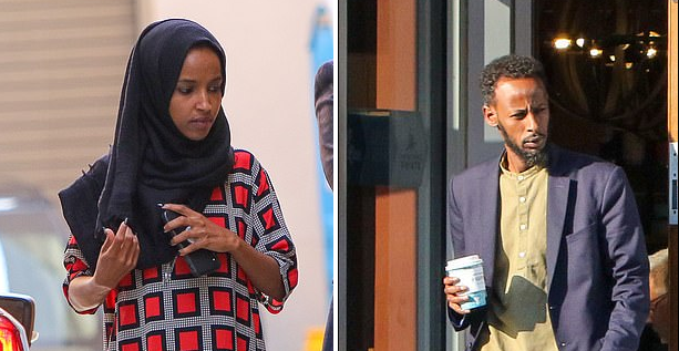 As Accusations Of Fraud Swirl, Rep. Ilhan Omar Busts A Move And Splits From Husband