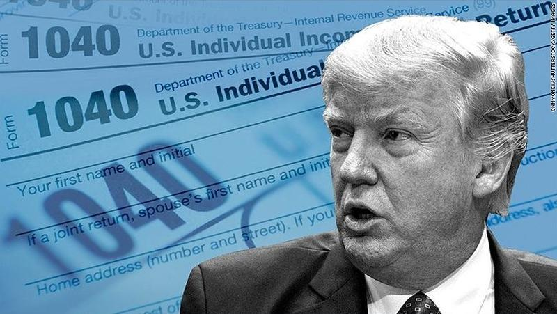House Democrats Sue IRS For Trump Tax Returns