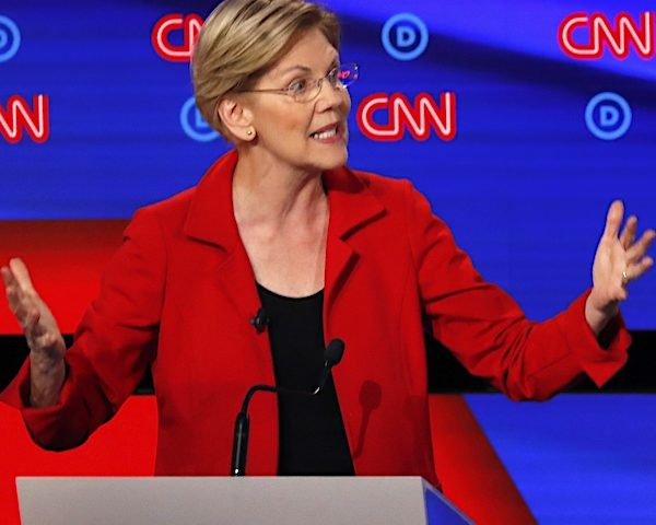 Q-Poll: Warren Surges, Biden Still Leads in '20 Dem Race