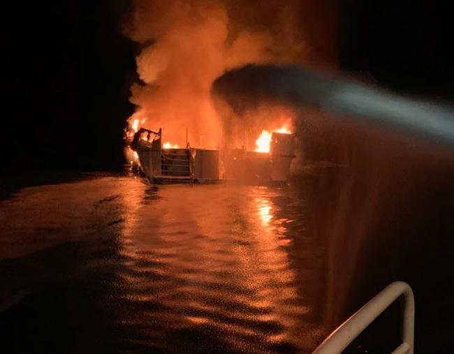 34 Reported Dead In Ventura County Dive-Boat Fire