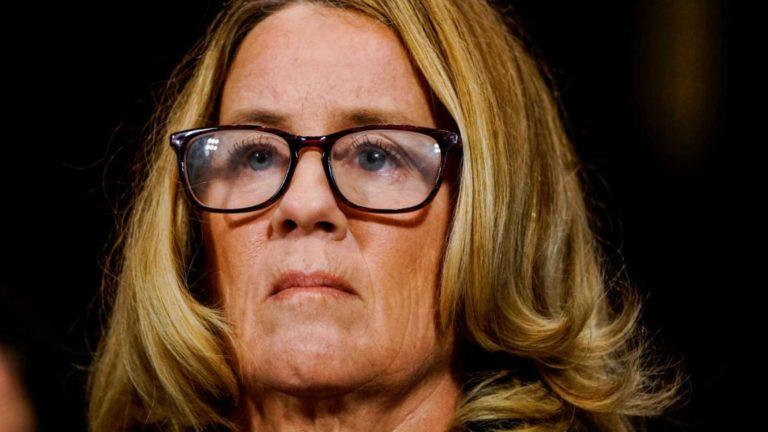 Was Christine Blasey-Ford Just Outed By Her Own Lawyer?