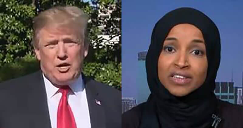 Trump Totally Triggers Ilhan Omar When He Announces Where His Next Big Rally Is Going To Be Held