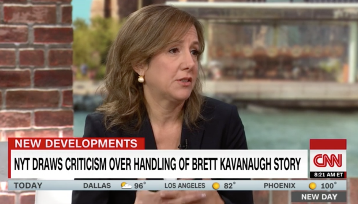 NYT Reporter Tries To Blame Fox News After Getting Busted For Anti-Kavanaugh Smears, Gets Roasted Instead