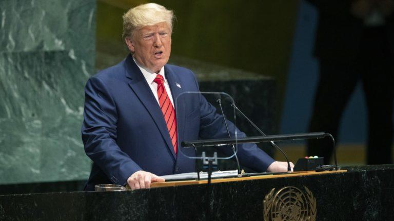 Trump To UN: The Future Does Not Belong To Globalists