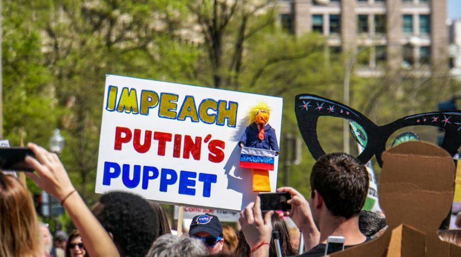 Trump The Russian Puppet. A Story That Just Will Not Die