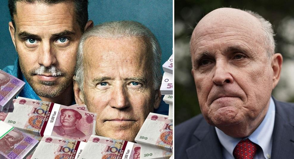 "Giuliani Hits Bidens With New $3 Million ""Ukraine-Latvia-Cyprus"" Money Laundering Accusation"