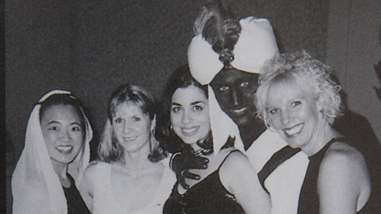 Shocking Yearbook Photo Shows Justin Trudeau Wearing 'Brownface'