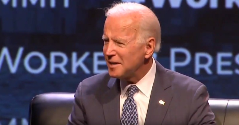 VIDEO: Biden rally chaos as crowd swarms #MeToo protester