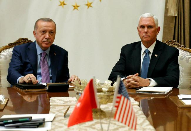 Turkey Agrees To 120 Hour Ceasefire In Syria; Lira Soars