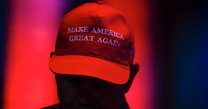 'Make America Great Again' Listed on College's 'white supremacy' Pyramid