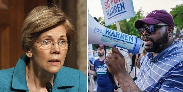 "Elizabeth Warren Fires National Organizing Director Over ""Inappropriate Behavior"""