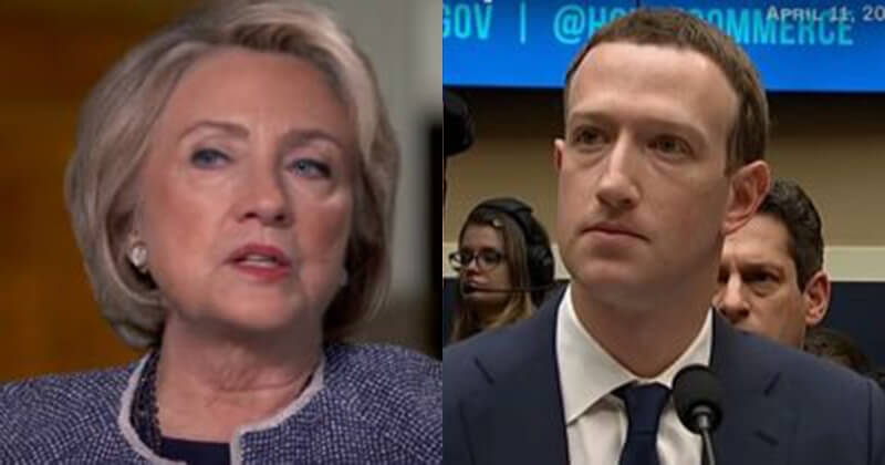 Hillary Says 'Zuckerberg Should Pay A Price' For Political Ads On Facebook