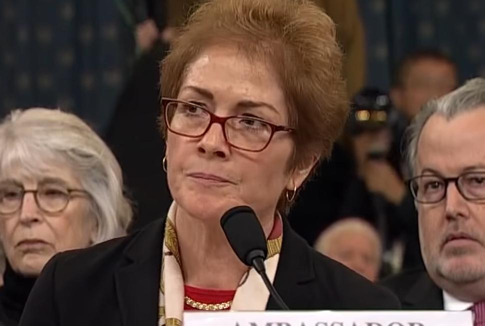 Marie Yovanovitch Admits There Was No Crime, No Bribery From Trump On Ukraine
