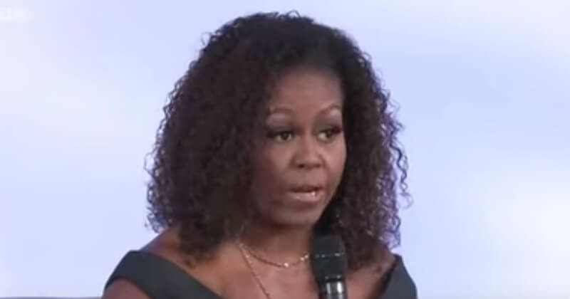 Michelle Obama To White People, 'Ya'll Are Still Running' From Black People